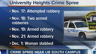 Woman stabbed in the latest armed robbery near UB South - Video