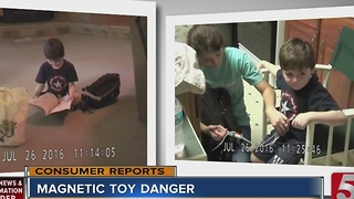 Alert Warns Of Magnetic Toy Danger - Video