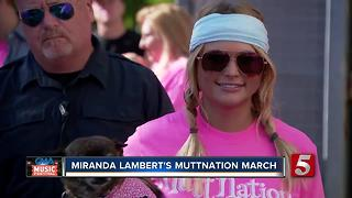 Miranda Lambert Promotes MuttNation With March - Video