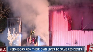 2 Children Killed In Fire, Cause Under Investigation - Video