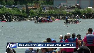Riverworks hosts Hope Chest Dragon Boat Race - Video