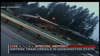 Amtrak train derails in Washington state - Video