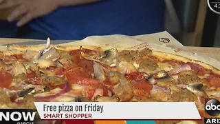 Smart Shopper: Get free pizza! Woo-hoo! - Video
