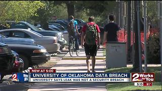 Breach of current and former OU students' data - Video