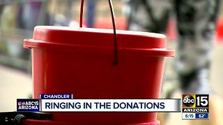 Chandler man has collected $32,000 ringing bell for Salvation Army