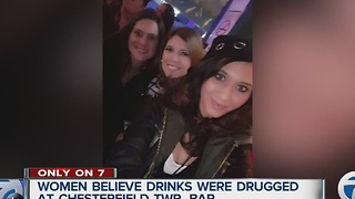 Women say they were drugged at bar - Video