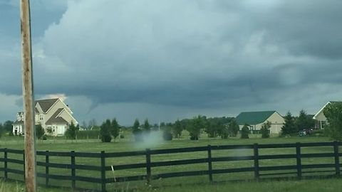 Funnel Cloud Spotted in Pickaway County, Ohio
