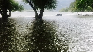 Kelowna flooding Disaster  - Video