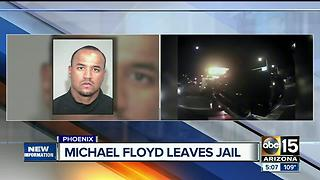 Former Cardinals WR Michael Floyd serves 6 hours jail time for Scottsdale DUI - Video