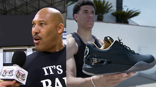 "LaVar Ball Explains WHY ZO2's are So Expensive and Why He's a ""Genius"" - Video"
