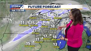Wind Chill Advisory in effect until noon Tuesday - Video