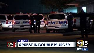 Phoenix police make arrest in double murder - Video