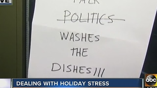 Tips for dealing with holiday stress - Video