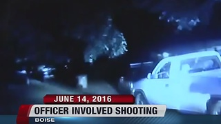 Boise police say an officer involved shooting June 14th was justified - Video
