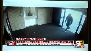 Surveillance video released in hospital shooting - Video