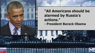 Obama sanctions Russia - Video