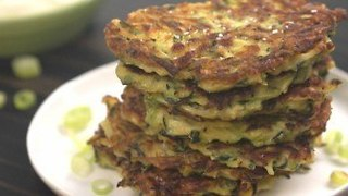 How To Make Zucchini Fritters - Video