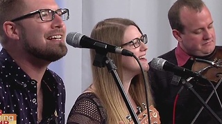 Applebutter Express performs a song from their new CD - Video