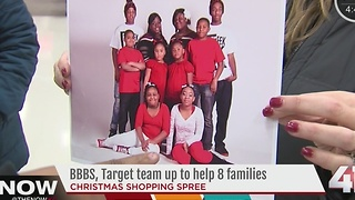Big Brothers, Big Sisters of Greater KC and Target team up to help 8 KC metro families - Video