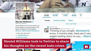 Montel Williams on FB Hate Crime | Rare News - Video