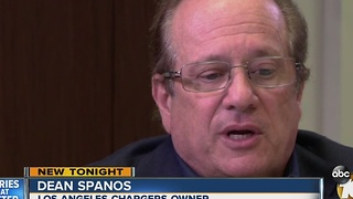 Dean Spano defends Chargers move to Los Angeles - Video