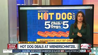 Hot Dog Deals for National Hot Dog Day