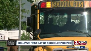 Bellevue first day of school experience