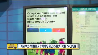 Camps your kids can attend while out of school for winter break in Hillsborough County - Video
