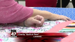 "Local Business Holds Charity ""Quilt-A-Thon"""
