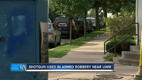 Police: Shotgun used in armed robbery at UWM