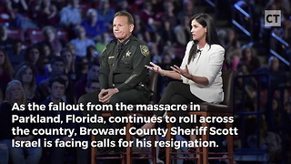 """Sheriff Israel Says """"Not My Job"""" After Deputy Refused to Run Into Building... State Law Says Otherwise"""