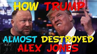How Trump Almost Destroyed Alex Jones