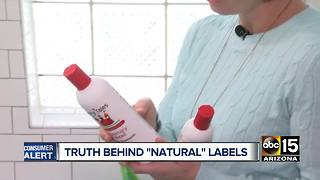 Truth behind natural or organic food labels - Video