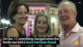 Daughter receives double transplant just in time for Christmas | Hot Topics - Video