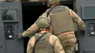 Martin County Sheriff's SWAT team trains with Navy Seals
