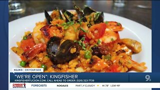 Kingfisher serves up takeout seafood