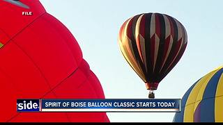 Spirit of Boise kicks off - Video