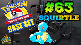Pokemon Base Set #63 Squirtle | Card Vault