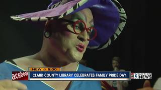 Library comes together for pride celebration - Video