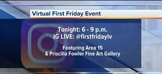 Virtual First Friday event tonight