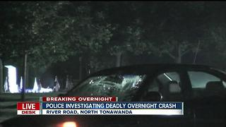 North Tonawanda police are investigating deadly crash