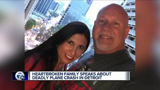 Victims in Detroit plane IDed as Texas couple