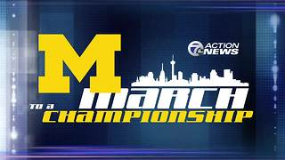 Michigan continues its quest for a National Championship against Villanova - Video