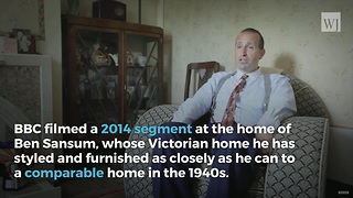 Only Thing Crazier Than the Man Who Lives Every Day Like it's 1946 is the Inside of His House - Video