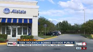 Two teens robbed at gunpoint in Cape Coral - Video