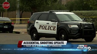 Police: Toddler accidentally shot, killed 1-year-old in Tucson