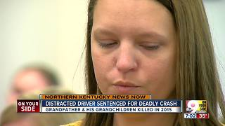 Distracted driver sentenced for deadly crash - Video