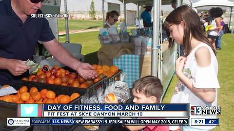Skye Canyon hosts Fit Fest on March 10