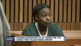 Woman sentenced in fatal drunk driving crash - Video