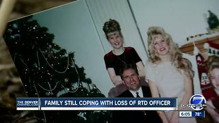 Family still coping with loss of RTD officer - Video
